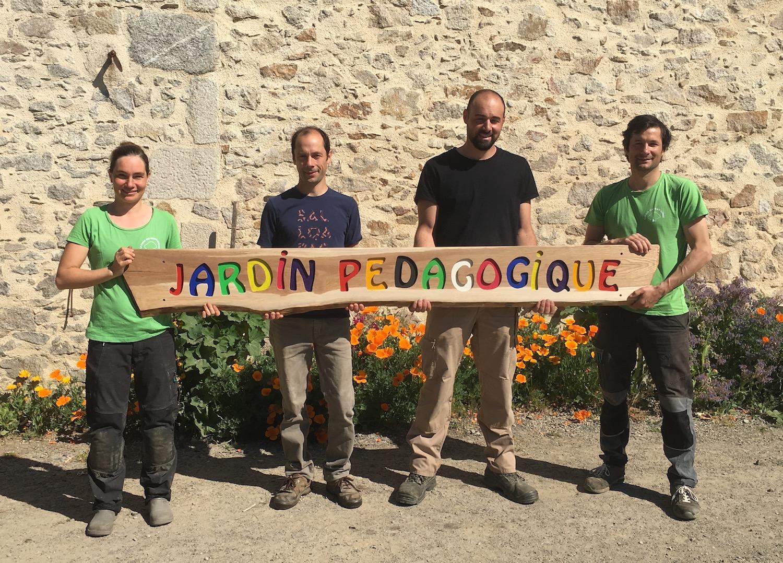 Rabea, Théophile, Hugo et Jérémie